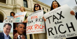Pew Report – Rich Greedy, Don't Pay Enough Taxes